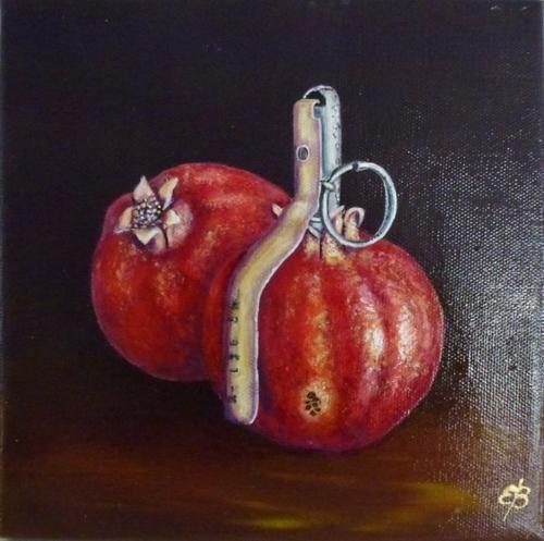Les grenades Pommegranats Granatæbler