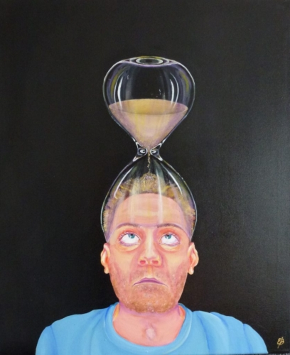 Time out of mind acrylic painting